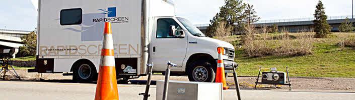 roadside emissions test van rapidscreen